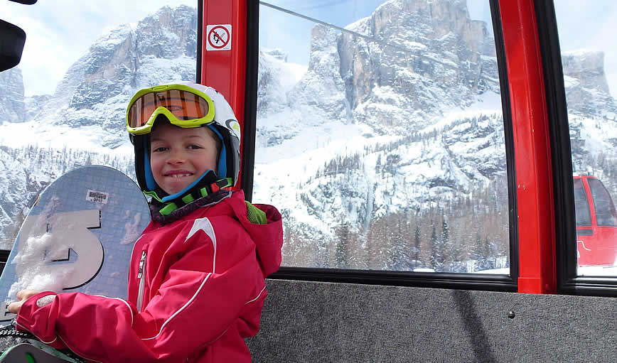Apartments for families in Alta Badia